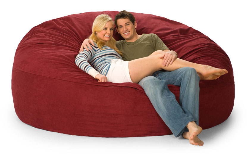 Big One Lovesac Giant Love Sack of Foam : ps 7dm ms005 l from www.fombag.com size 834 x 520 jpeg 62kB